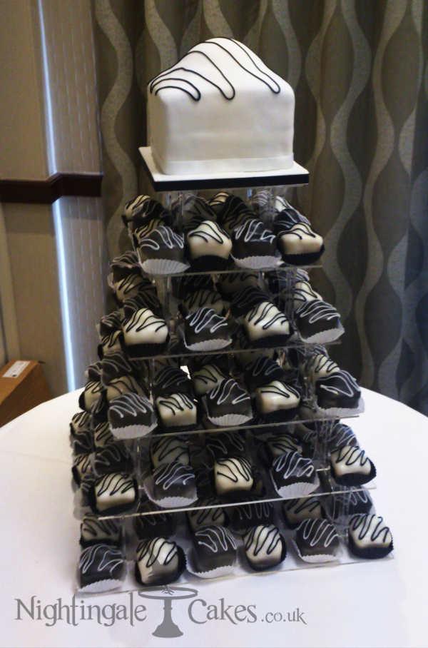 Fondant Fancy Wedding Cake Nightingale Cakes